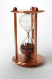 Sand-glass. Shows an exact times Stock Images