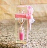 Sand glass render Stock Photo