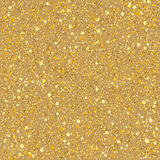 Sand gold sparkles texture. Royalty Free Stock Images