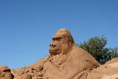 A Sand gorilla Stock Photo