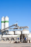 Sand and gravel plant Royalty Free Stock Photography