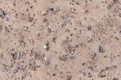 Sand gravel shingle texture seamless. Royalty Free Stock Image
