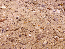 Sand gravel texture Stock Images
