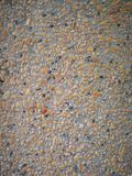 Sand and gravel wall Royalty Free Stock Photography