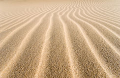 Sand groove away Royalty Free Stock Images