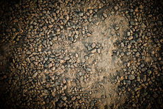 Sand ground textured Royalty Free Stock Photo