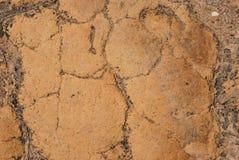 Sand ground textured. Stock Photography