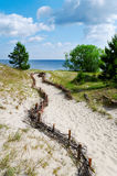 Sand-Hügel. Lizenzfreies Stockbild