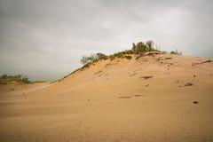 Sand-Hügel bei Waren Dunes Park Stockfotos