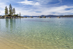 Sand Harbor beach Stock Photography