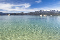 Sand Harbor beach Stock Image