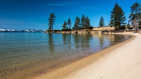 Sand Harbor beach Tahoe Long exposure Stock Photos