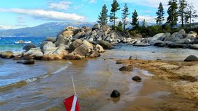 Sand Harbor Dive Royalty Free Stock Photography
