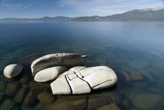 Sand harbor state park. Lake Tahoe,Nevada Stock Photo