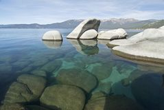 Sand harbor state park. Lake Tahoe,Nevada Stock Images