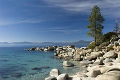 Sand harbor state park Stock Image