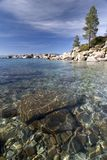 Sand harbor state park. Lake Tahoe,Nevada Stock Photography