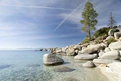 Sand harbor state park. Lake Tahoe,Nevada stock photos