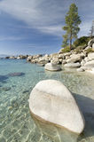 Sand harbor state park. Lake Tahoe,Nevada Royalty Free Stock Photo
