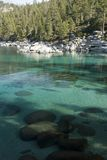 Sand harbor state park Royalty Free Stock Image