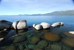 Sand harbor state park. Lake Tahoe,Nevada Royalty Free Stock Photography