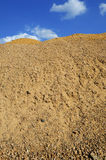 Sand heap Royalty Free Stock Image