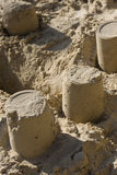 Sand heap. A close up taken with a macro lens Royalty Free Stock Photos