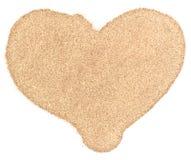 Sand heart Royalty Free Stock Photos