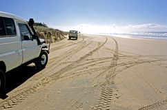 Sand Highway Royalty Free Stock Photography