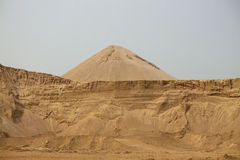 Sand hill Royalty Free Stock Photography