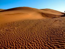 Sand Hill. Sandhills on Sunrise at Perrys Bend Stock Image