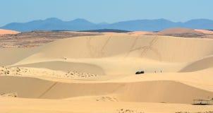 Sand hill at Bau Trang town in Binh thuan, Vietnam Royalty Free Stock Image