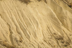 Sand hill closeup Royalty Free Stock Image