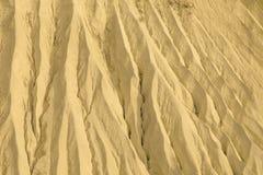Sand hill closeup Stock Photos