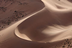 Sand hill in desert Royalty Free Stock Image