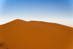 Sand hill in the Sahara desert Stock Photos