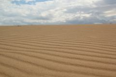 The sand hill stock photography