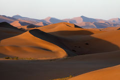 The sand hills stock photo