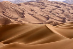 The sand hills Royalty Free Stock Photo