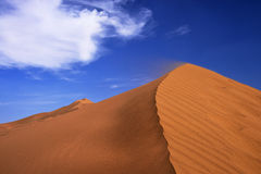 Sand hills Stock Photography