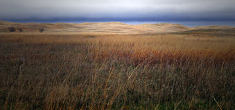 Sand Hills, Nebraska stock photography