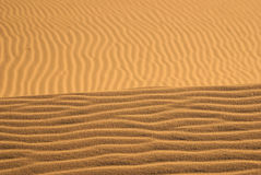 Sand Horizon Royalty Free Stock Photo