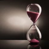 Sand Hourglass Royalty Free Stock Images