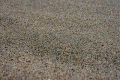 Sand im Makrofokus Lizenzfreies Stockbild
