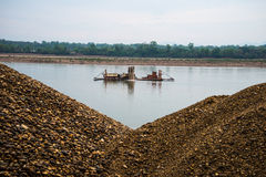 Sand industry stock photography
