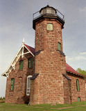 Sand Island Lighthouse Royalty Free Stock Photos
