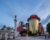 Sand-Kasino in spät evenening Macao Stockfoto