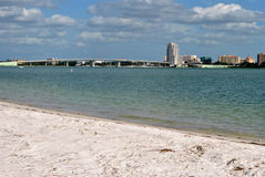 Sand Key. In Clearwater, Florida, USA Stock Images