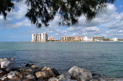 Sand Key. In Clearwater, Florida USA Royalty Free Stock Images