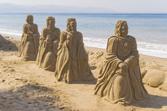 Sand kings Stock Photos